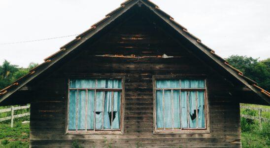 houten schuur